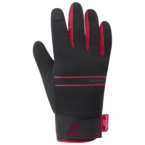 Rękawiczki SHIMANO Windstopper® Insulated red